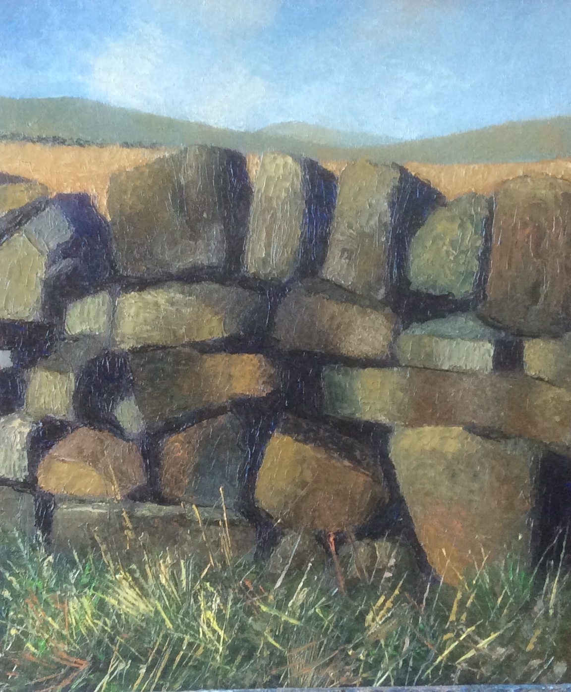 Yorkshire dry stone wall