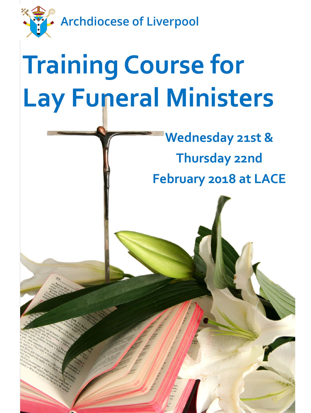 Lay Funeral Ministers Training Course Leaflet February 2018