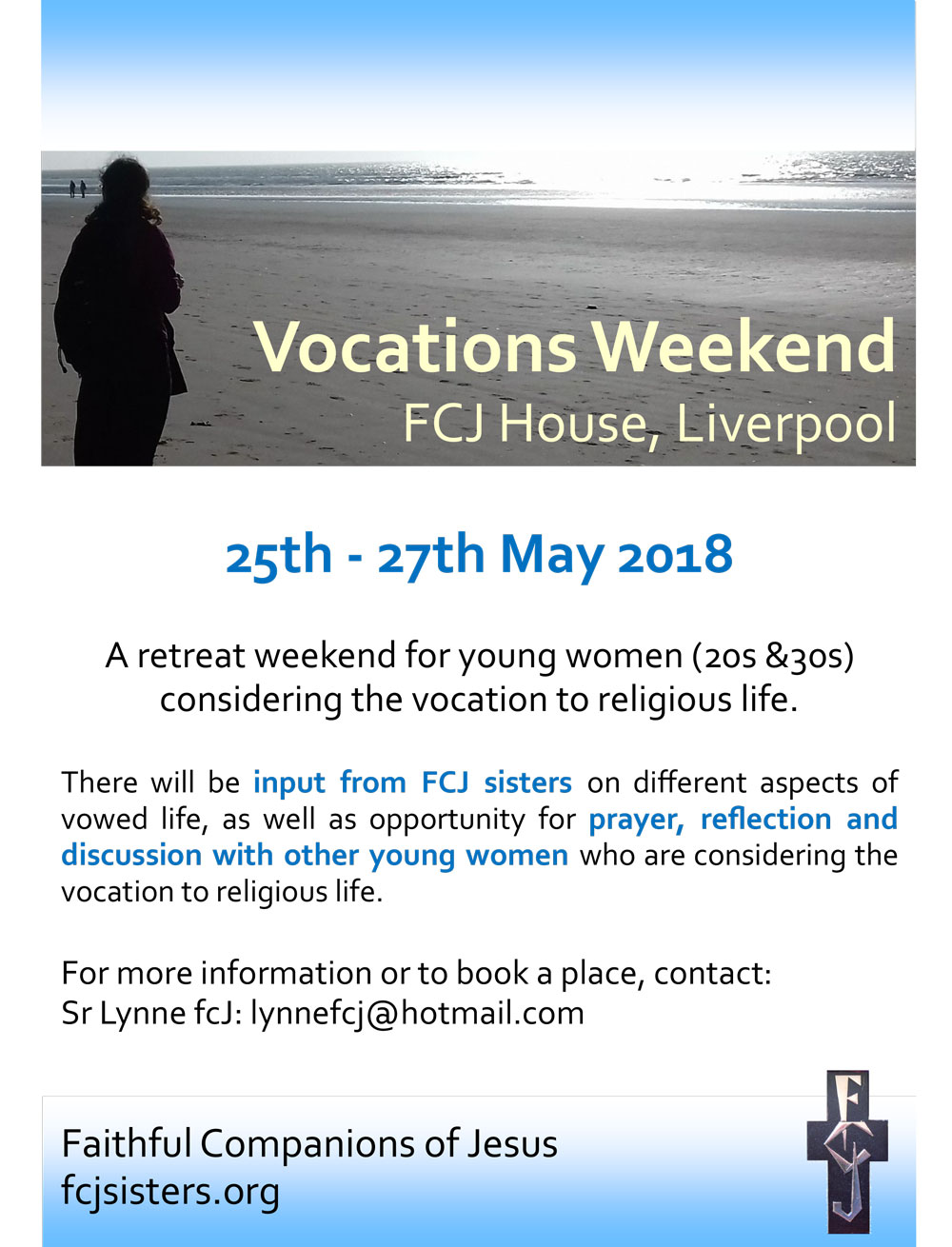 Vocations weekend May 2018 Poster