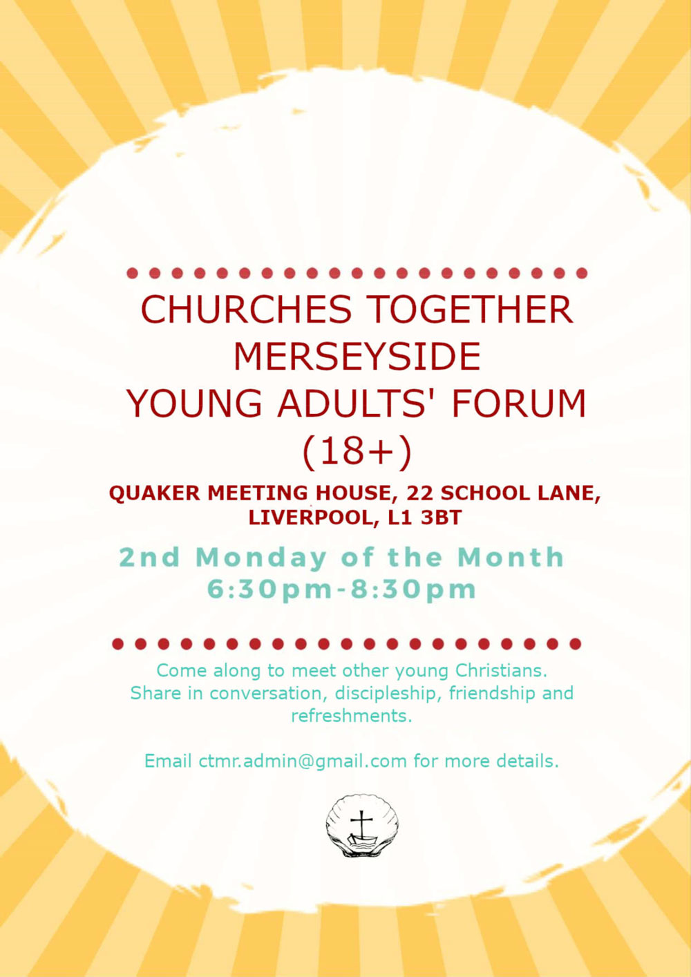 CTMR Young Adults gatherings poster