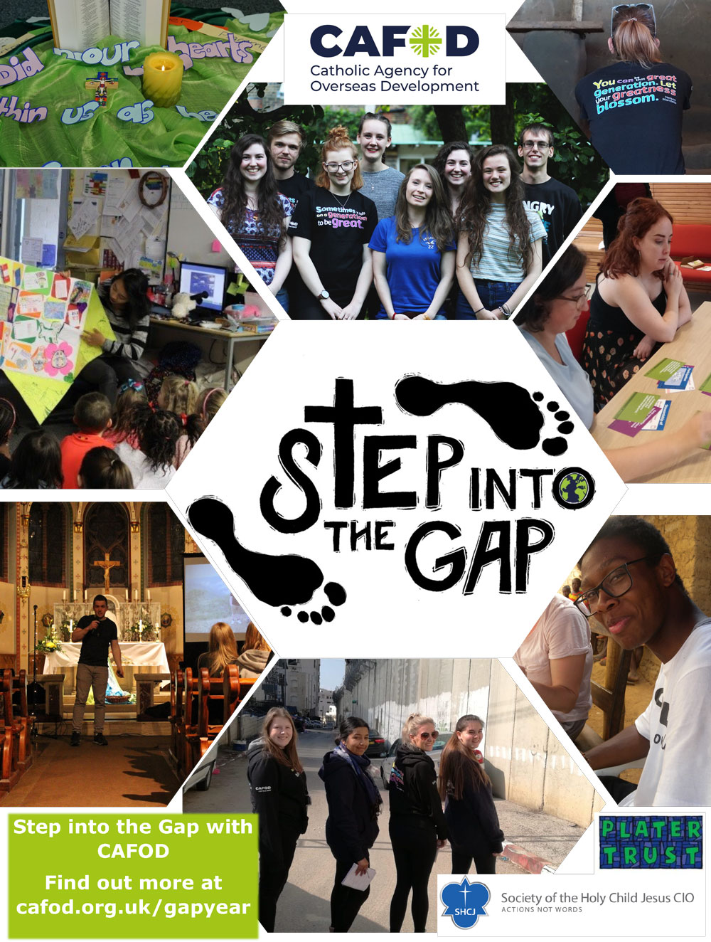 Step in to the Gap Poster