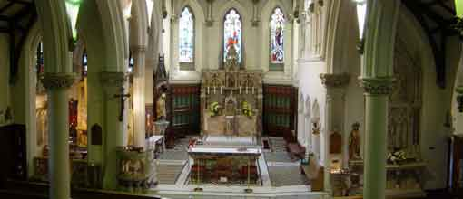 body church interior