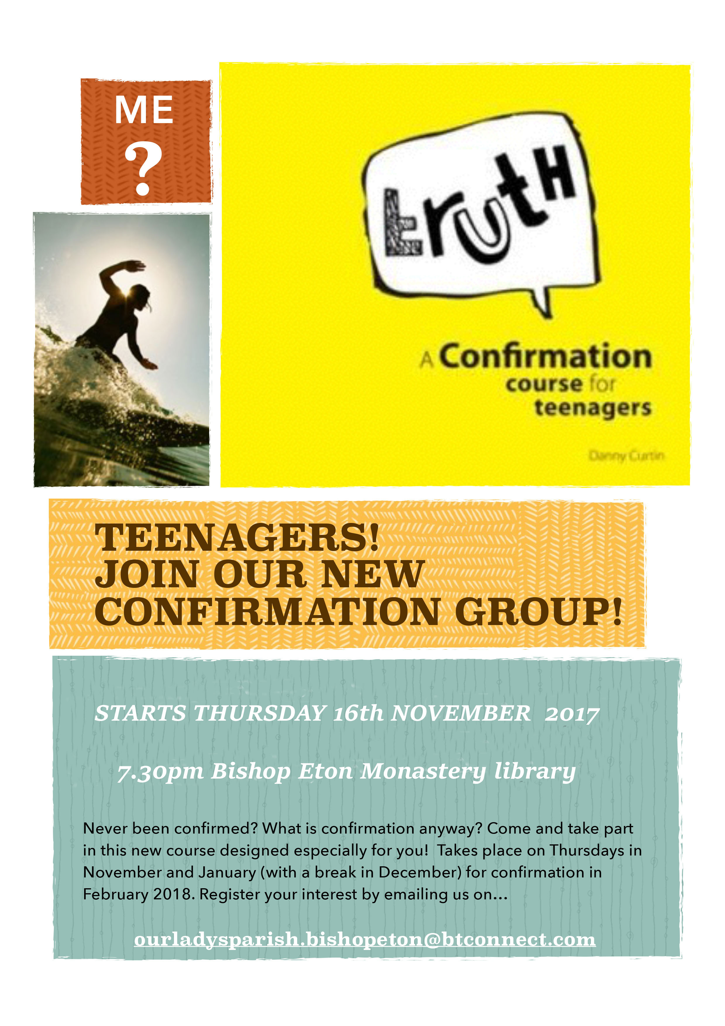 Teen Confirmation PosterIss2