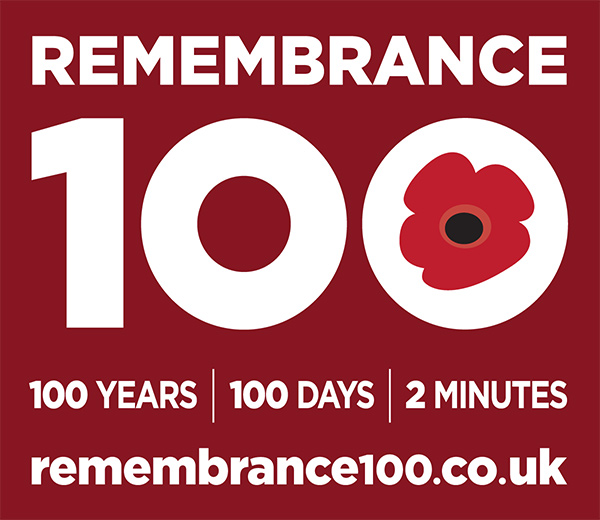 Remembrance 100 Logo Medium