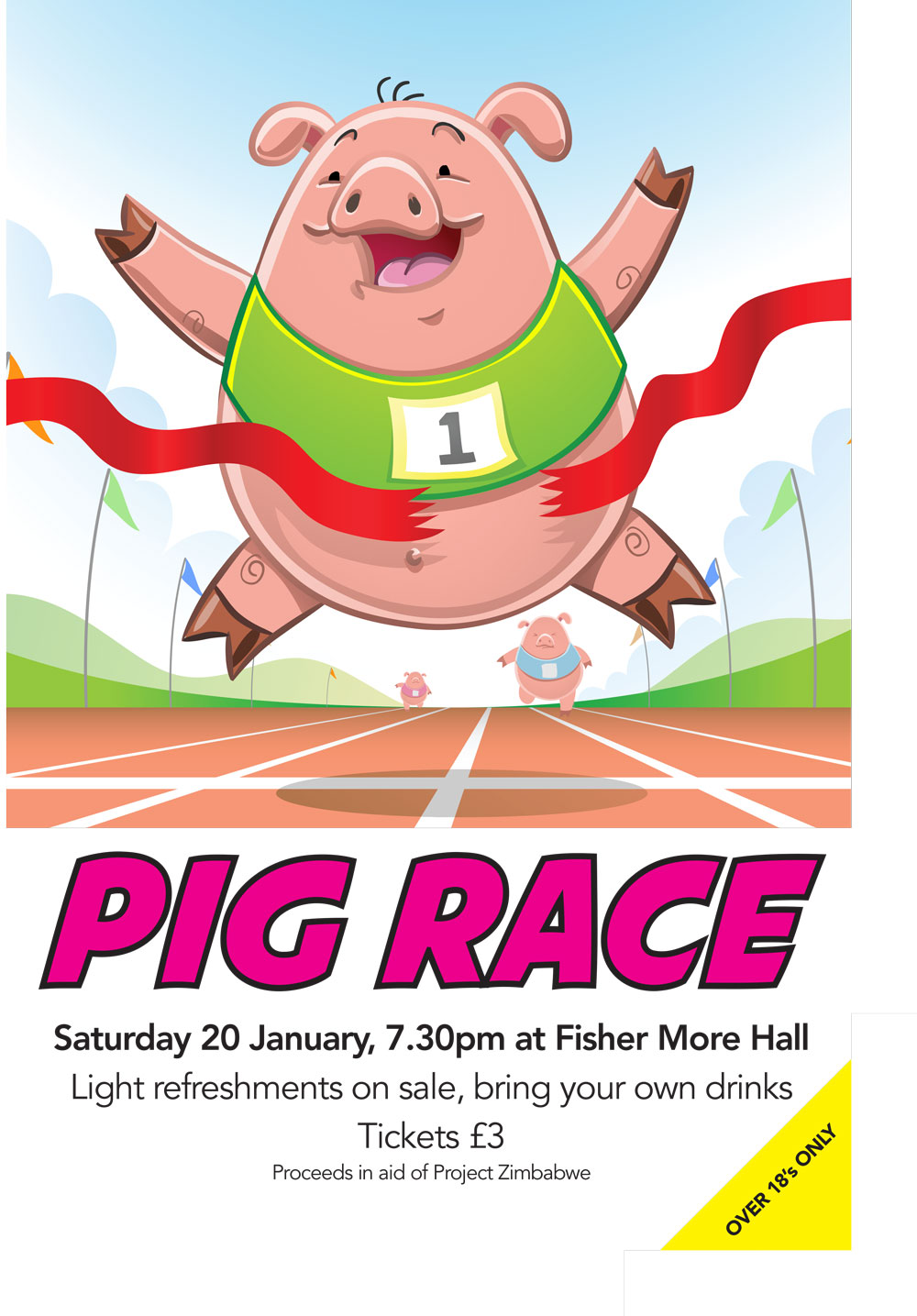 Pig Race poster