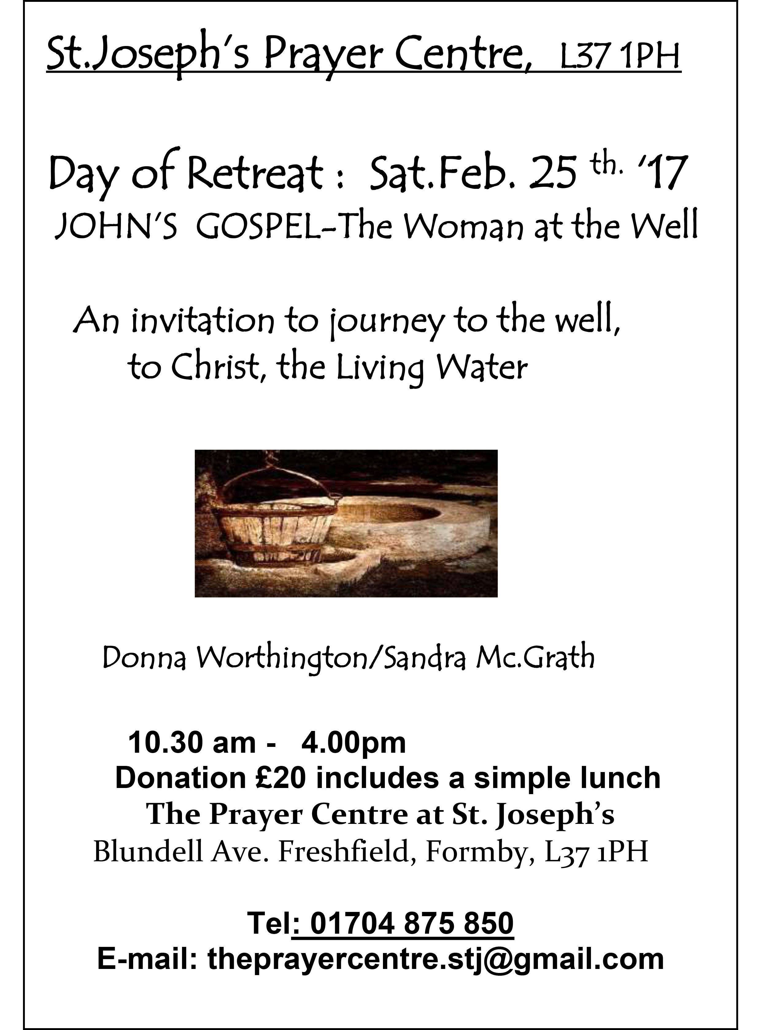 Day of retreat 7 1